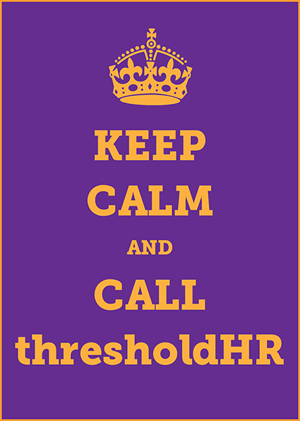 thresholdHR Keep Calm